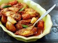 خورشت مرغ تند کره ای
