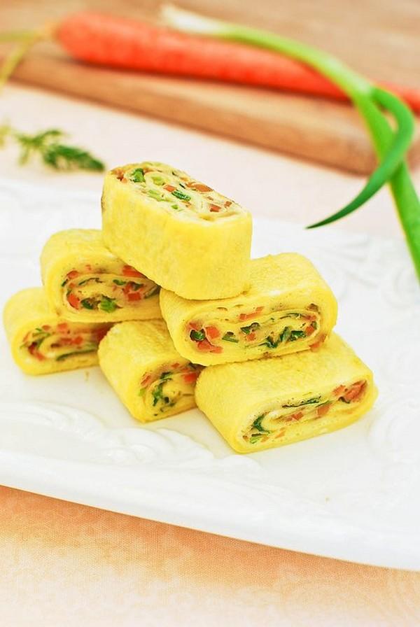املت تخم مرغ و سبزیجات کره ای