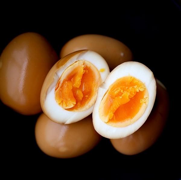 تخم مرغ سویا سس